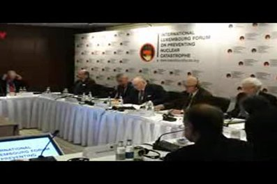 Hans Blix at the Luxembourg Forum (ILTV, Israel)