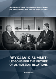 Reykjavik summit: lessons for the future of US-Russian relations